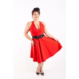 Robe Maryline rouge...