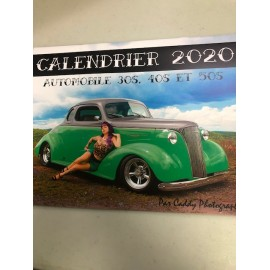 CALENDRIER 2020 automobile...