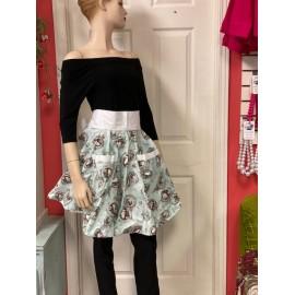Le tablier style jupe*pierrot