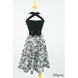 Glow in the dark Halloween full circle skirt with pocket