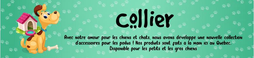Collier pour chiens - Lolita et Pépito