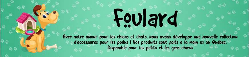 Foulards pour chiens et chats - Lolita et Pépito