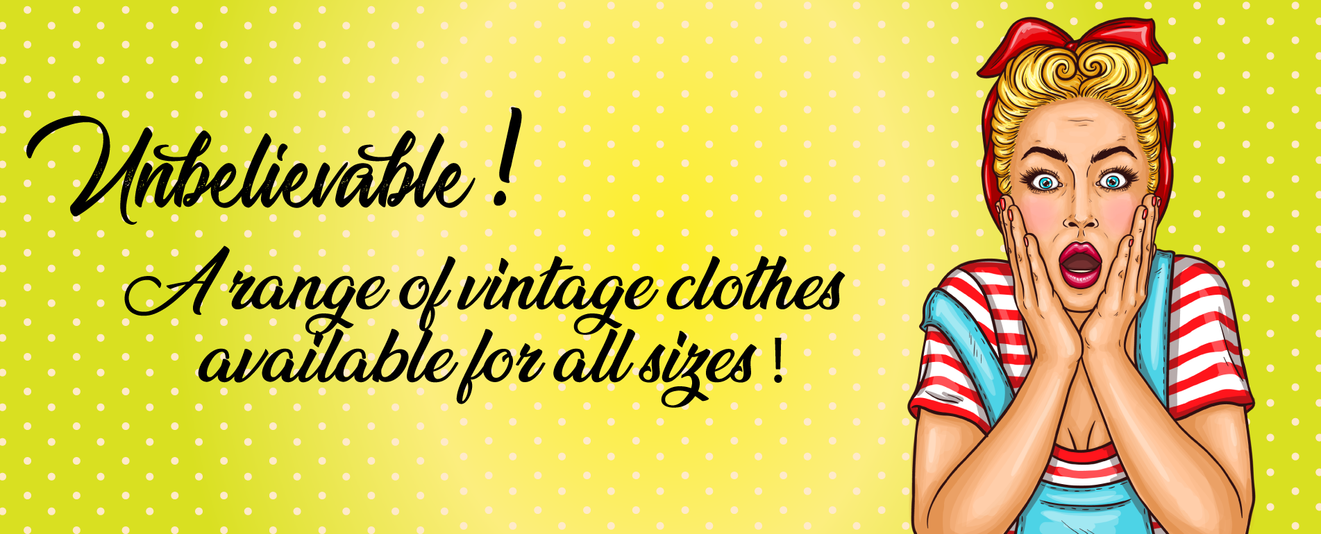 PLus Size Vintage clothes